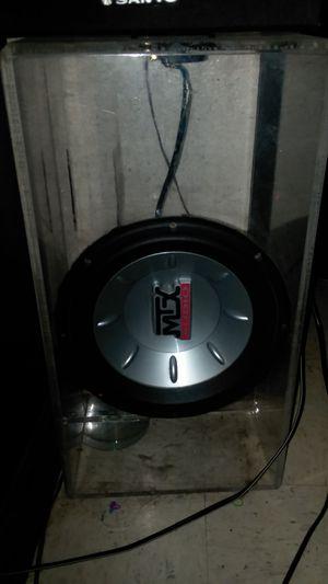 MTX Thunder 6000 10 inch sub for Sale in Arcata, CA
