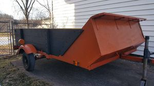 5x8 trailer light all work and I have registration to it 250 or trades for Sale in Munnsville, NY