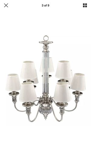 Gala 9 light chandelier 🖤 for Sale in HAWAIIAN GARDENS, CA