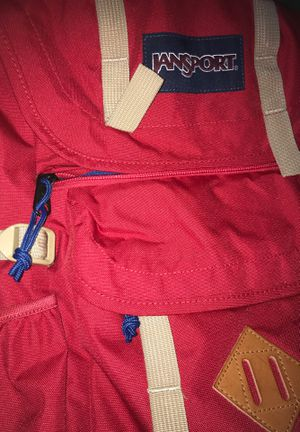 Red and Blue Jansport Travel BackPack for Sale in Palo Alto, CA