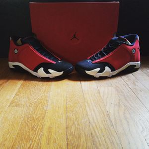 Nike Jordan 14 Retro Gym Red Toro Size 12.5 for Sale in Rockville, MD