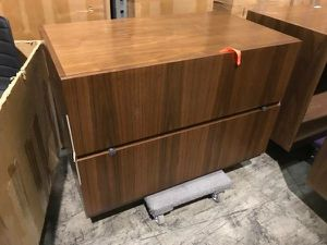 Brand new high end office a drawer file cabinet ... plus matching furniture for Sale in Bel Air, MD