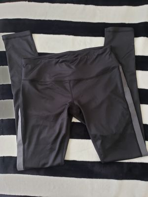 Reebok Black & Gray Full Length Leggings SIZE SMALL for Sale in West Hills, CA