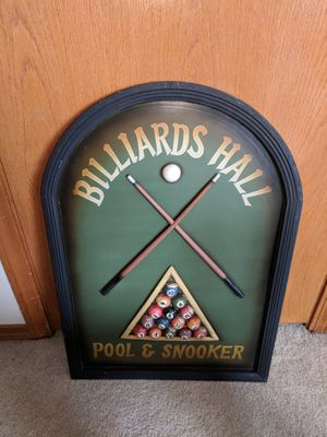 Billiards Hall Pool Sign for Sale in Gresham, OR