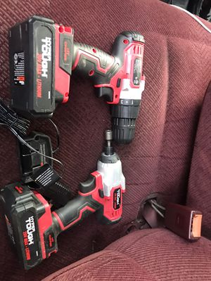 Hyper touch impact and drill 20v brandnew. for Sale in Burlington, NC