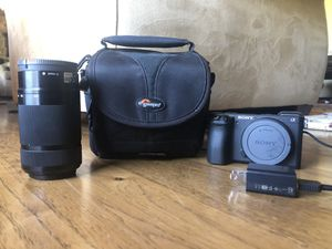 Sony a6500 Mirrorless Camera for Sale in San Diego, CA
