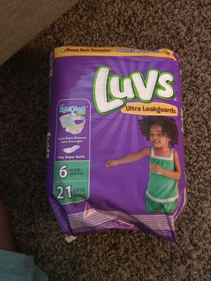 Luvs diapers size 6 for Sale in Baton Rouge, LA