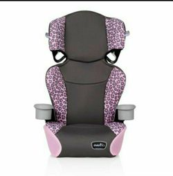 Big Kid Sport High Back Belt-Positioning Booster Car Seat (Jasmin Pink) for Sale in Sylmar,  CA