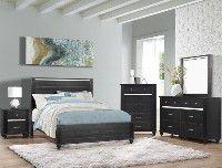 Bedroom set Queen bed +Nightstand +Dresser +Mirror for Sale in Jurupa Valley, CA