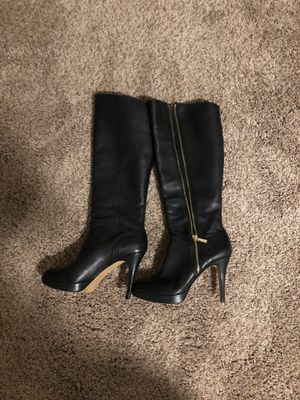 Vince camuto leather boots for Sale in Prineville, OR