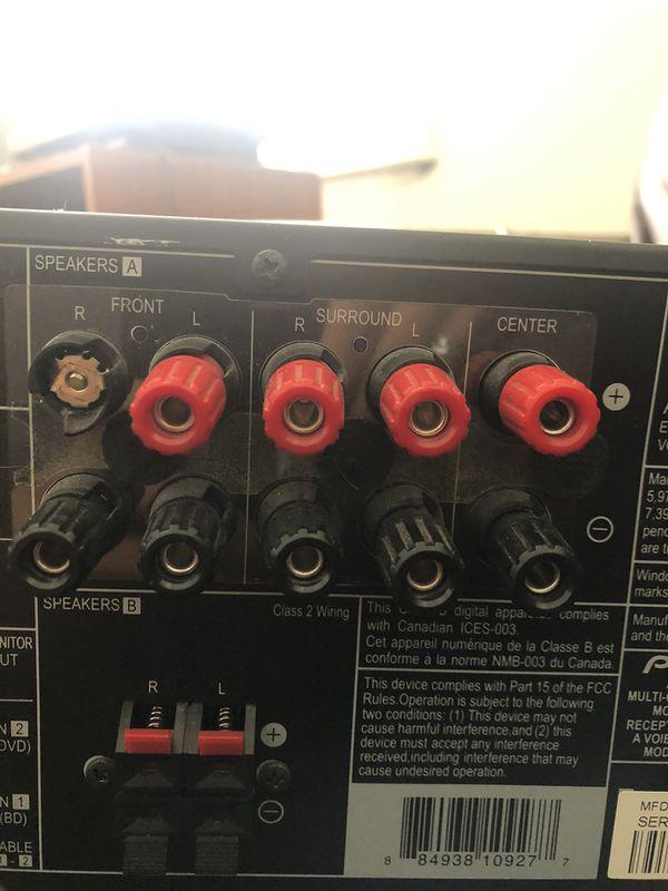 Pioneer VSX-820-K - AV receiver