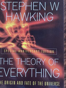 The Theory Of Everything by Stephen Hawking for Sale in Cupertino,  CA