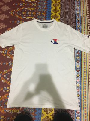 White Short Sleeve Champion Shirt for Sale in Dallas, TX