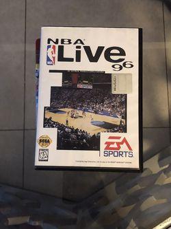 NBA Live 96 On Sega Genesis  for Sale in Pompano Beach, FL