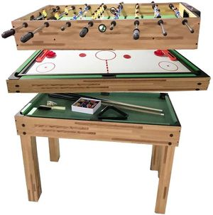 BRAND NEW 3 in 1 Multi-Use Game Table Mini Game Tables Foosball Table Air Hockey Table Pool Table for Sale in Las Vegas, NV