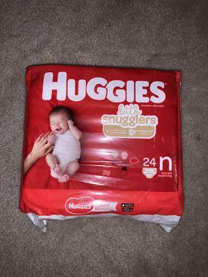 Huggies Little Snugglers Size Newborns for Sale in Los Angeles, CA