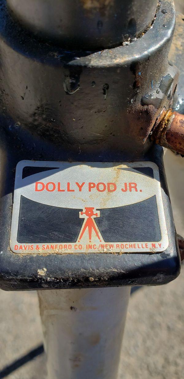 DAVIS & SANFORD DS DOLLY POD JR. PHOTO & VIDEO TRIPOD ON WHEELS