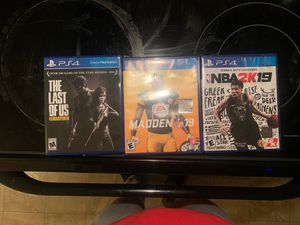 Ps4 games for Sale in Boiling Springs, SC