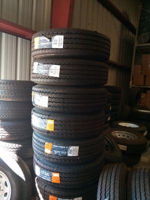 Heavy Duty trailer tires 225/75R15 for Sale in Fontana, CA