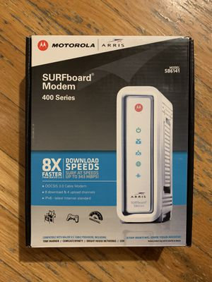 Motorola ARRIS SURFboard SB6141 Docsis 3.0 Cable Modem for Sale in Brooklyn, NY