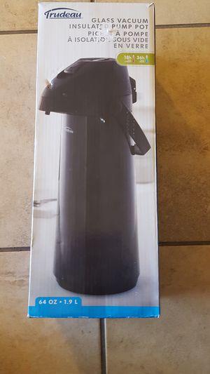 Glass vacuum insulated pump pot for Sale in Glendale, AZ
