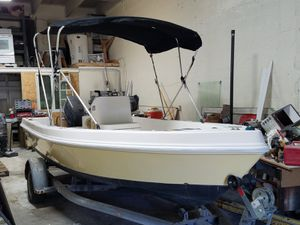 2008 Angler 17.3 with 2008 Yamaha 70hp 2 stroke for Sale in SUNNY ISL BCH, FL