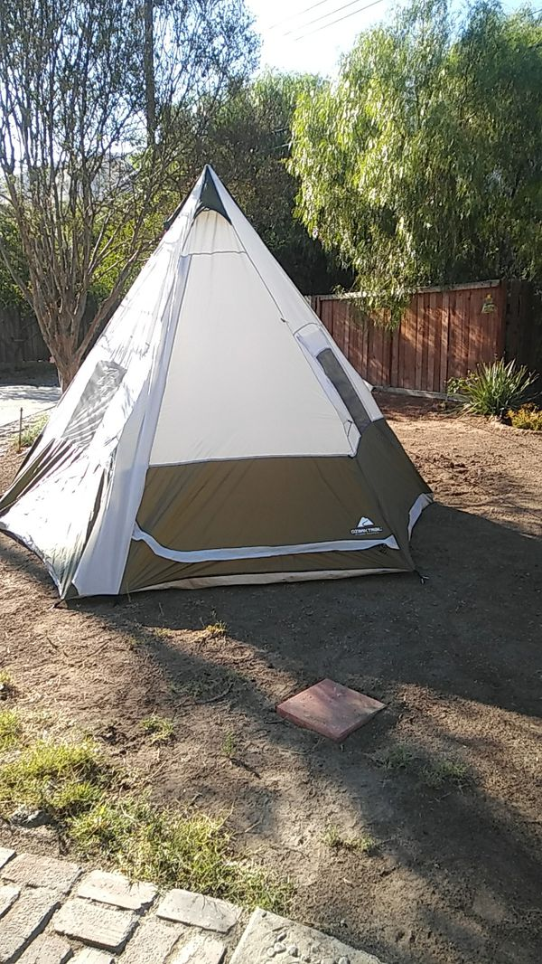 new style 04ef4 34005 Ozark trail 7 person teepee tent for Sale in Riverside, CA - OfferUp