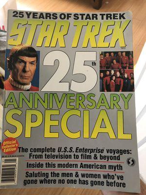 Start Trek Vintage magazine and VHS tapes (that work) for Sale in Tujunga, CA