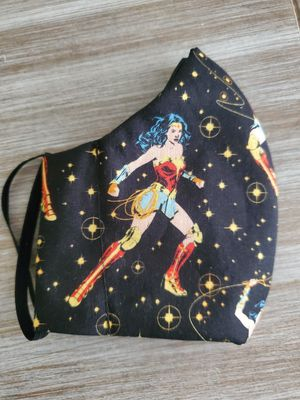 Wonder woman face mask for Sale in Diamond Bar, CA