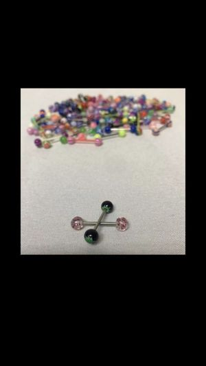 New. CrazyPiercing Tongue Rings 110 Count for Sale in Jurupa Valley, CA