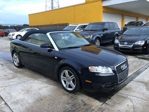 2008 Audi A4 Quattro 2.0L Cabriolet for Sale in Clearwater, FL