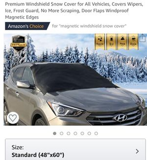 Premium Windshield Snow Cover for All Vehicles for Sale in Flower Mound, TX