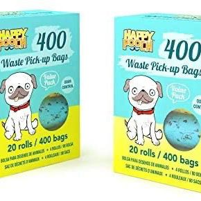 Happy Pooch Waste Pick-Up Bags 400 Count - 20 Rolls for Sale in Garden Grove, CA