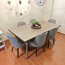 Dinning Table With 6 Chairs for Sale in Auburn,  WA