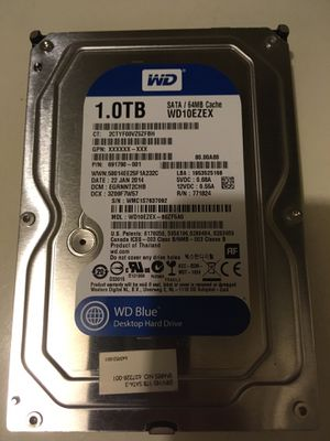 Hard disk 1 Tb low hours use, HDD 1tb for Sale in Winter Park, FL