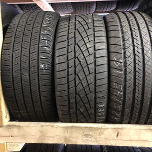 3 Tires 225 45 18 for Sale in Lincoln, RI