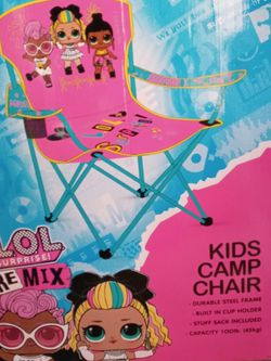 LoL Surprise Remix Kids Camp Chairs for Sale in Morgan Hill,  CA