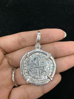 Atocha silver coin pendant for Sale in San Angelo, TX