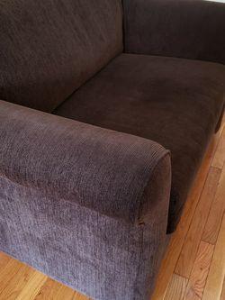 Super comfy loveseat w/ twin sleeper for Sale in Brooklyn,  NY