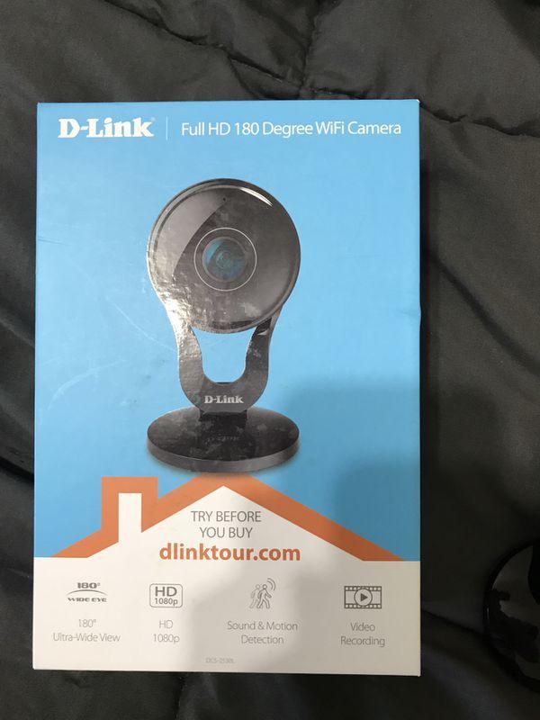 D-link WiFi security camera