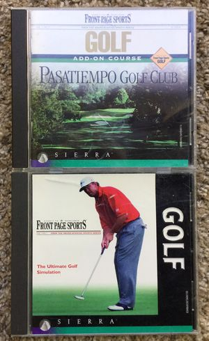 Old Golf PC Games ~ Check out my Page 😊 for Sale in Fresno, CA