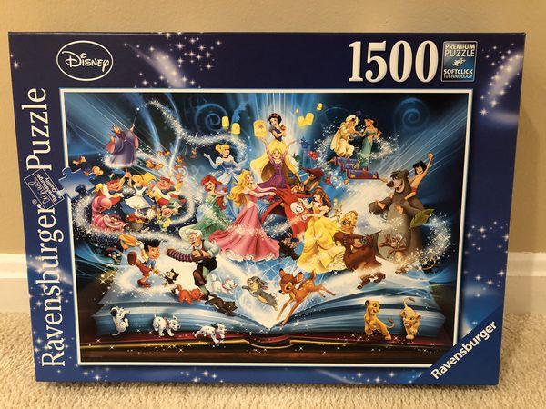Ravesburger Puzzle - Disney Magical Storybook 1500 pcs