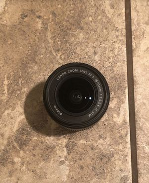 Canon Zoom Lens 18-55mm f/3.5-5.6 for Sale in Culver City, CA