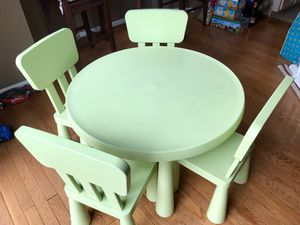 Children's table set for Sale in Germantown, MD