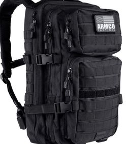 TACTICAL BACKPACK | BUG-OUT PACK | DAY-PACK | EDC | SURVIVAL | MOTORCYCLE | HIKING | RANGE | POLICE | MILITARY for Sale in Los Angeles,  CA