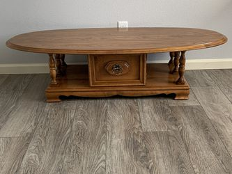 "Solid Wood Coffee Table !!! 15"" H 24@ W 60"" L for Sale in Vancouver,  WA"