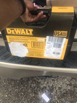 Dewalt Brushless 3 speed hammer drill kit for Sale in Detroit, MI