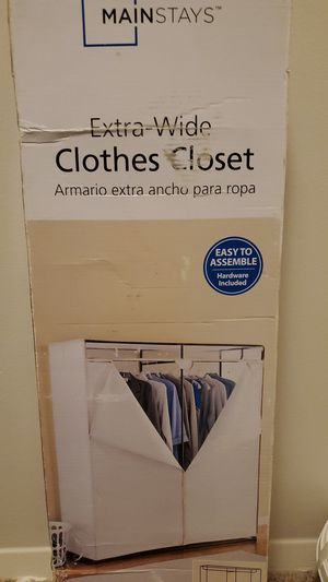 Extra Wide Clothes Closet for Sale in Annandale, VA