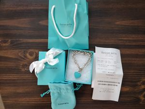 Tiffany Heart Tag Bracelet for Sale in Torrance, CA