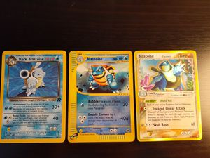 Pokemon cards blastoise holo lot for Sale in Orange, CA